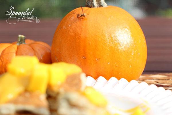 Gluten Free Mango Pumpkin Pancakes