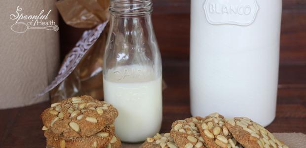 Pignoli Cookies {paleo,dairy, grain, gluten free}