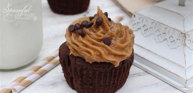 Chocolate Peanut Butter Protein Muffins {paleo, dairy, refined sugar & gluten free}