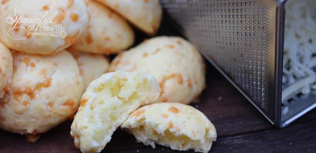 Brazilian Cheese Bread or Pao de Queijo {grain & sugar free}