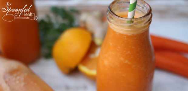 Orange Carrot Juice {raw, vegan, paleo & gluten free}