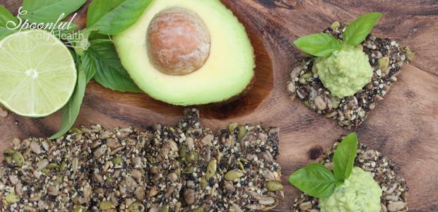 Sesame Seed Crisps {Gluten-Free & Paleo}