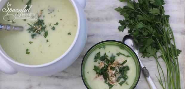 Creamy Parsnip & Fennel Soup {paleo, dairy & gluten free}