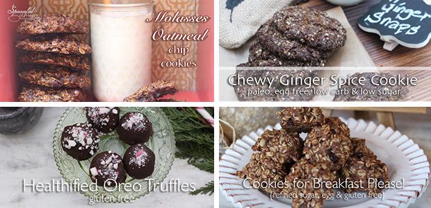 Favorite Cookie Roundup {paleo, no refined sugar, gluten & dairy free}