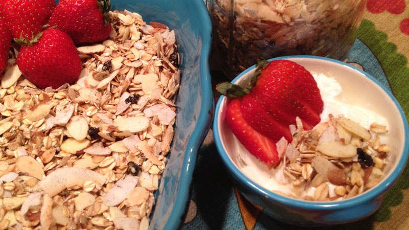 Healthified Gluten Free Granola