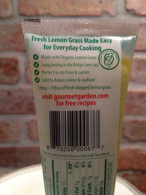 Gourmet Garden - Lemon Grass Paste