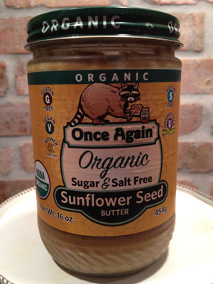 Once Again - Organic Sunflower Seed Butter