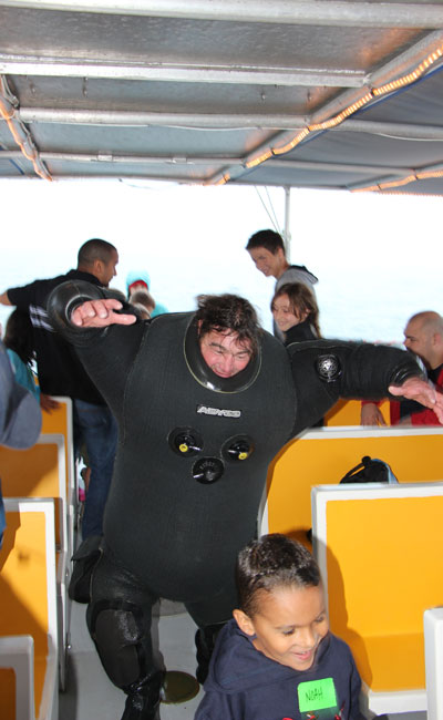 Silly Diver Ed