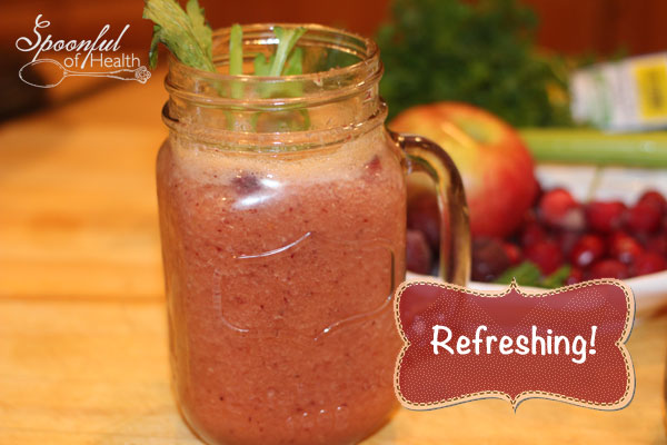 Refreshing Cranberry Smoothie