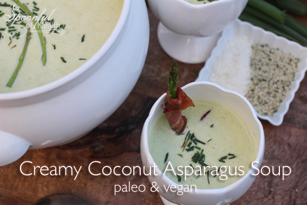 coconut asparagus soup
